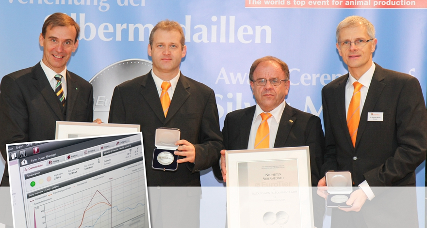 2012 DLG silver medal-FarmPowerManager